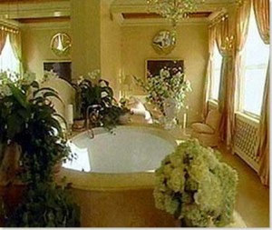 romantic tub