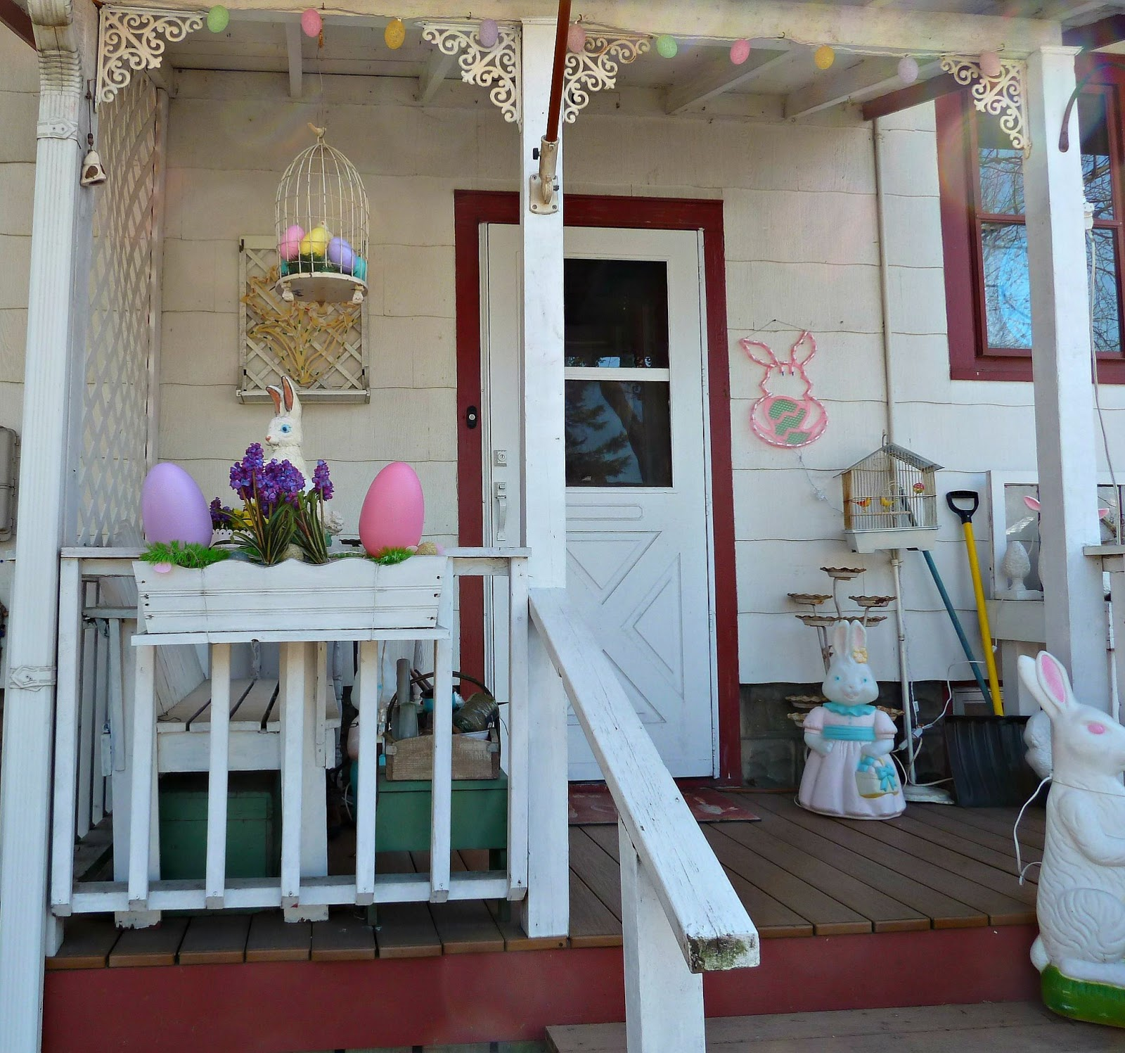 small front porch spring decorating ideas – decoto
