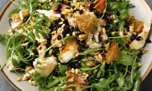 Yotam Ottolenghi's warm roast chicken and bread salad
