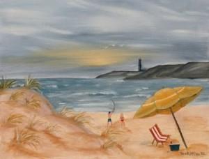 Beach painting 2