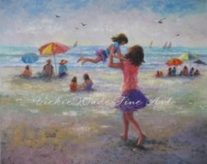 Beach painting 3