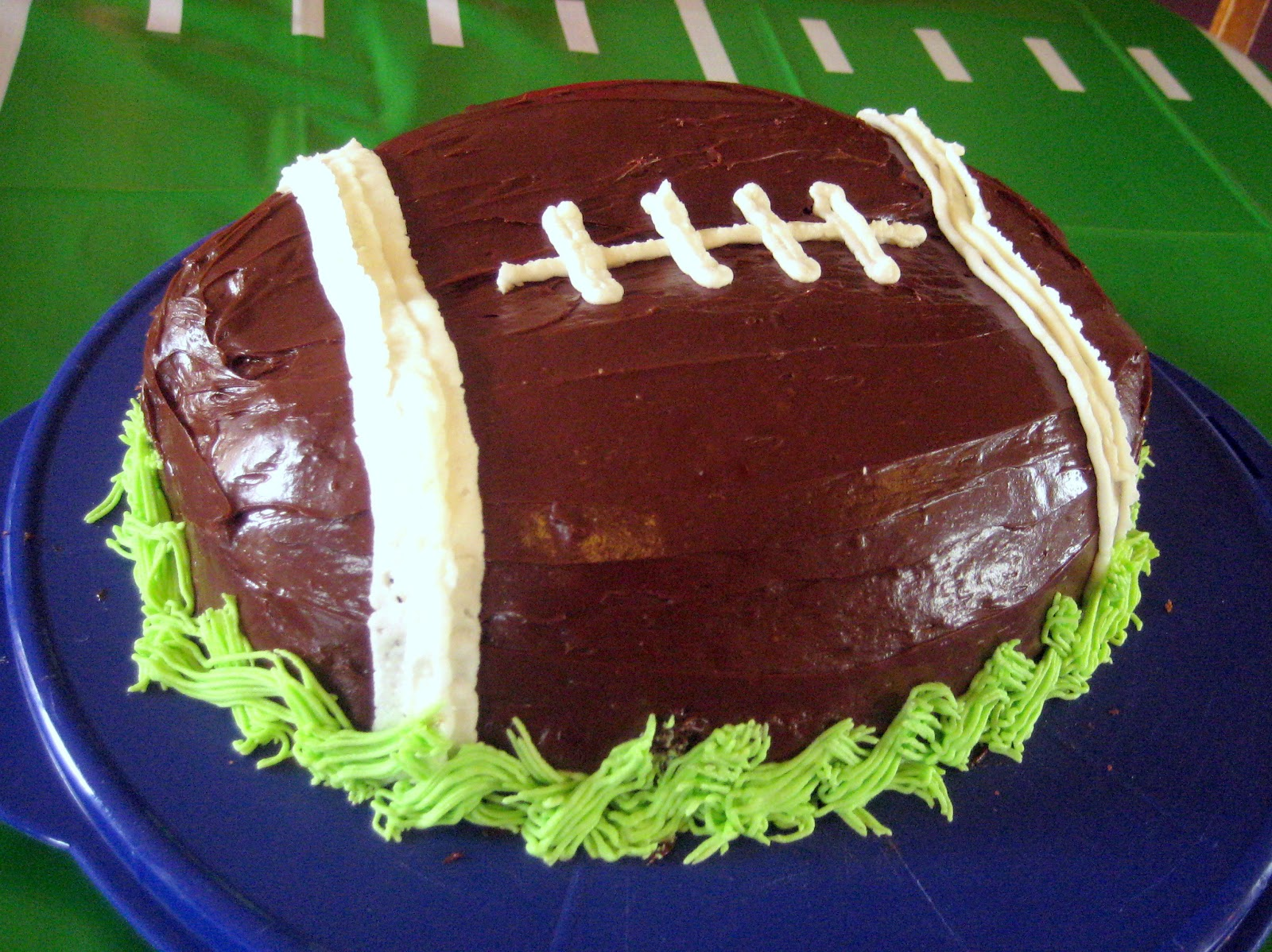 football birthday cakes images