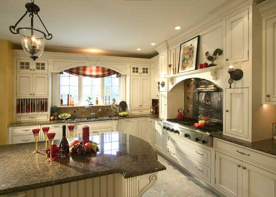 Great Antique White French Country Kitchen 559 x 400 · 29 kB · jpeg