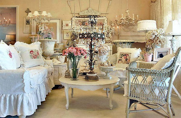 The Bazzaro Shabby Chic Living Room Living Winsomely