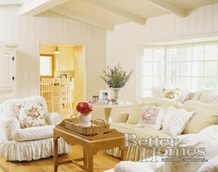 The Bizarro, Shabby Chic Living Room | Living Winsomely