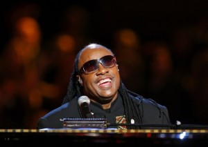 Stevie Wonder performs during the Neighborhood Inaugural Ball in Washington